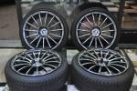 BMW用 アドバンAVSモデルF15 鍛造ホイール タイヤ新品セットF30・3シリーズ,F10・5シリーズ、E90・3シリーズなどに