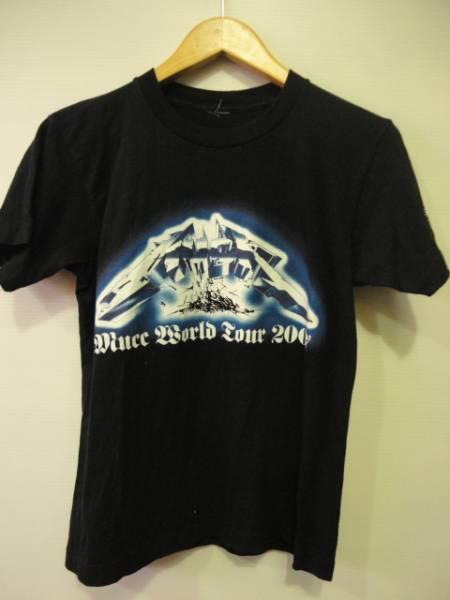 ♯ MUCC 復刻METAL。T Tシャツ WORLD TOUR 2007 ムック S