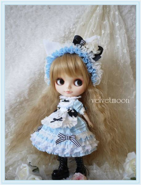 ◆水色猫◆ブライスOF~velvetmoon~