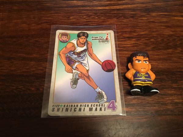 スラムダンク 牧紳一 カード ミニフィギュア セット グッズの画像