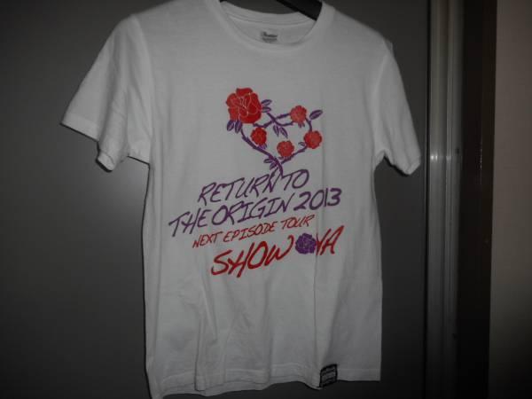 レアSHOW-YAショウヤ2013年ツアーTシャツライブTシャツサイズS白ホワイトバンドTシャツハードロック女性バンド