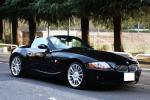 【美車】上級モデル BMW Z4 ロードスター3.0i パワフル231馬力 電動オープン【検31/4長期車検取得】黒革/純正ナビ/HID/18インチAW/東京