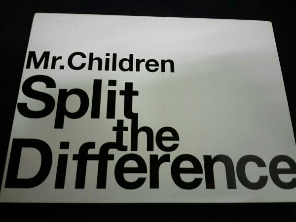 Mr.Children Split The Difference ライブグッズの画像