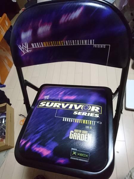 1.WWE ワールドプロレス リングサイド席 特製折り畳み椅子 SUECIV(0)R SERIES SUNDAYNOVEMBER17 LIVE AT MADISON SQUARE GARDEN グッズの画像