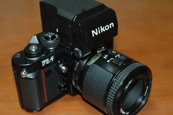 ★★NikonF3AF AF Nikkor 80mm 1:2.8 純正ケース及び取説 極美品★★_画像2