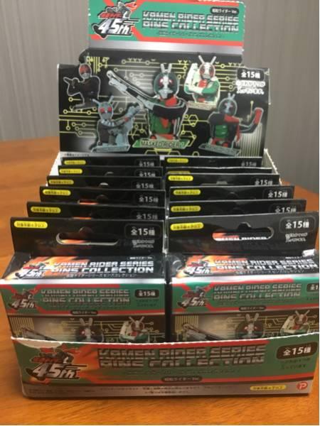 仮面ライダーシリーズピンズコレクション昭和ライダーver.12個 グッズの画像