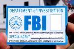 FBl連邦捜査局 特別捜査官 カスタムIDカード 貴方のお写真お名前で専門会社が作成 (クレジットカードと同じ材質です)