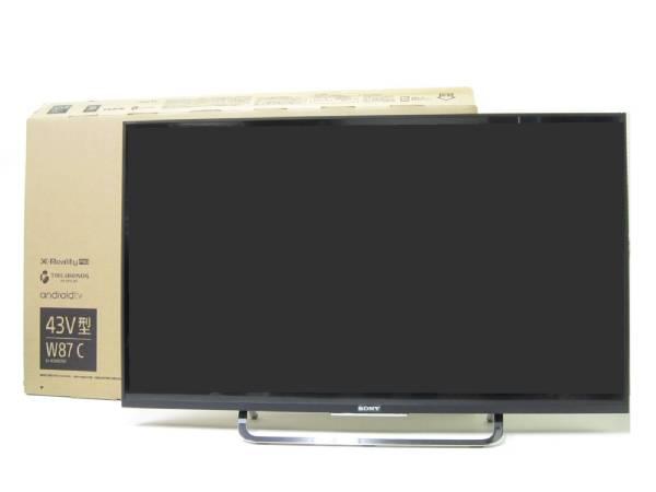 1円~ 美品!SONY ソニー BRAVIA ブラビア 43V型デジタルハイビジョン液晶テレビ KJ-43W870C 2016年製 Android TV_画像3