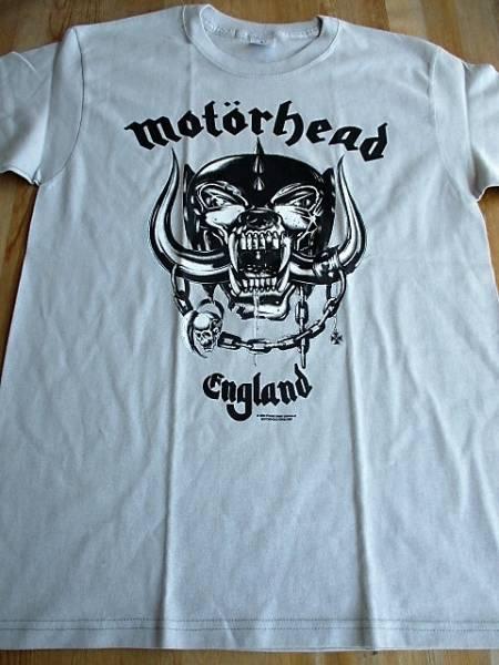 MOTORHEAD Tシャツ ENGLAND ライトグレーM / metallica iron maiden judas priest black sabbath