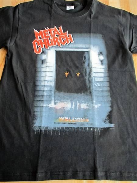 METAL CHURCH Tシャツ the dark 黒M / metallica iron maiden overkill omen cities