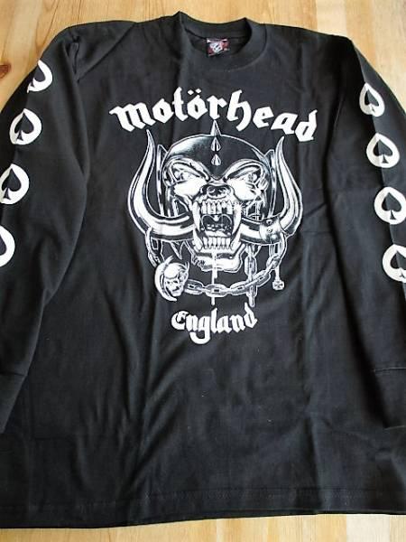 MOTORHEAD 長袖Tシャツ England 黒M / metallica judas priest iron maiden black sabbath ロンT