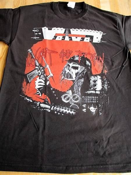 VOIVOD Tシャツ war and pain 黒L / slayer sodom razor sacrifice aggression