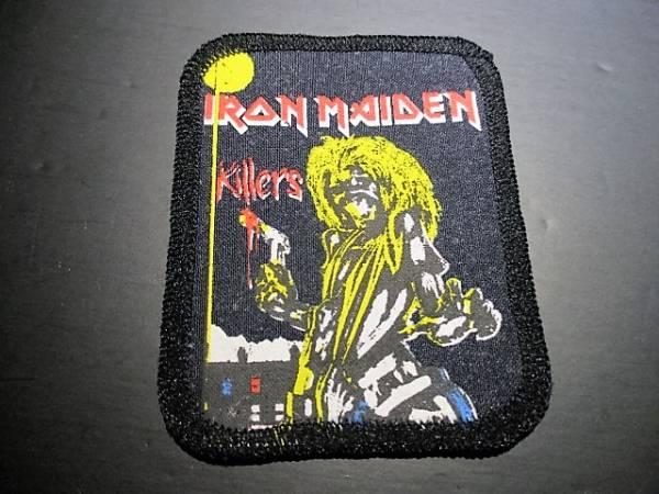 IRON MAIDEN プリントパッチ ワッペン killers ヴィンテージ デッドストック / judas priest slayer metallica