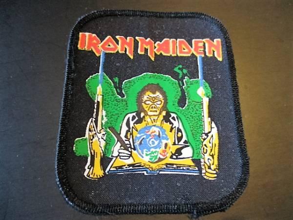 IRON MAIDEN プリントパッチ ワッペン Seventh Son Of A Seventh Son デッドストック ヴィンテージ / metallica motorhead judas priest