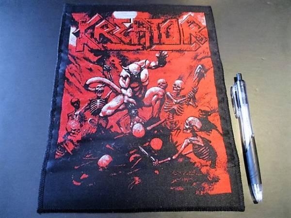 KREATOR 刺繍バックパッチ ワッペン Pleasure to Kill / slayer sodom destruction metallica