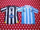 NIKE マンチェスター メッシ アルゼンチン サッカー レプリカ ユニフォーム 2着セット 140cm ジュニア ウェア