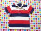 Ralph Lauren ★ ラルフローレン 半袖 ポロシャツ 6 110 120cm トリコロールカラー