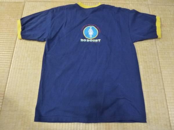 no doubt just a girl T‐shirt tragic kingdom 希少デザイン!U.S.A. Lサイズ ノーダウト 訳アリ