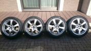 レクサスLS460/600h スタッドレス タイヤ 245/45R19 ダンロップDSX2 社外アルミ 中古