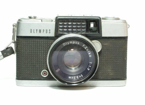 昭和レトロ OLYMPUS PEN-D オリンパス ペン D / F.Zuiko 1:1.9 f=3.2cm ハーフサイズ フイルムカメラ ジャンク品