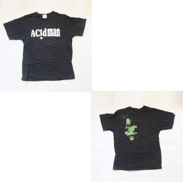 ACIDMAN その他 Tシャツ(ブラック) アシッドマン グッズ