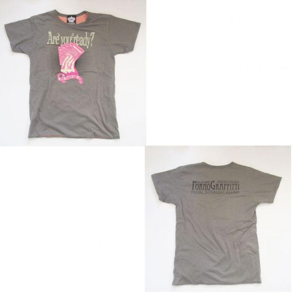 ポルノグラフィティ 10th LIVE CIRCUIT ロイヤル ストレート フラッシュ Tシャツ グッズ