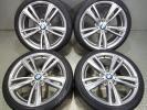 BMW3シリーズF30純正 スタイリング442M/バリ山!P ZERO RFT付き 4本セット F31F32F33F36にも 『W613』