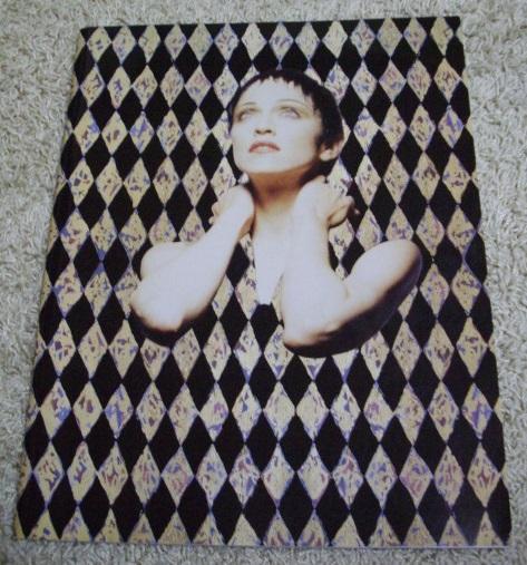 ◆マドンナ・ツアー・パンフレット MADONNA 1992 THE GIRLIE SHOW◆ ライブグッズの画像
