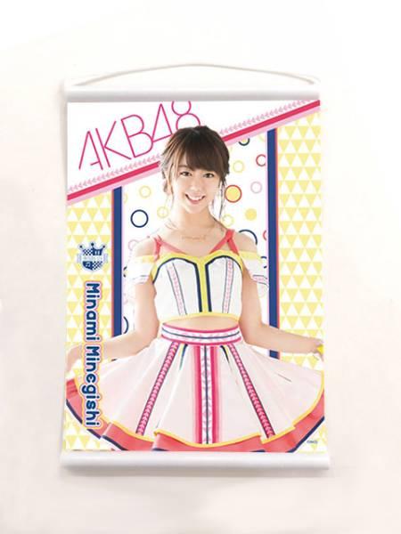 ☆ AKB48 峯岸みなみ 限定 3/4発売 ミニタペストリー (全66種) ライブ・総選挙グッズの画像
