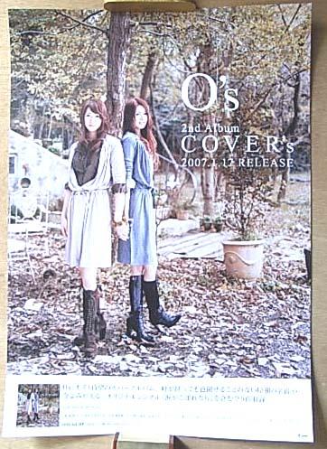 O's(オズ) 「COVER's」 ポスター
