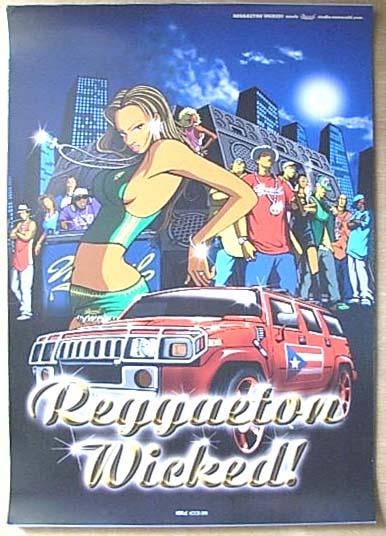 REGGAETON WICKED! (レゲトン) ポスター