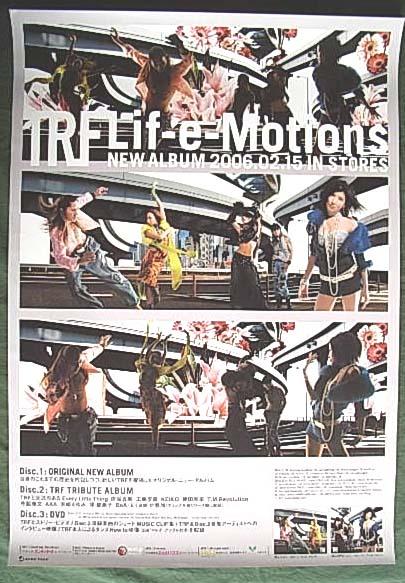 TRF 「Lif-e-Motions」 ポスター