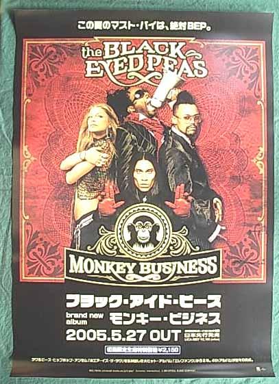 ブラック・アイド・ピーズ 「モンキー・ビジネス」 ポスター