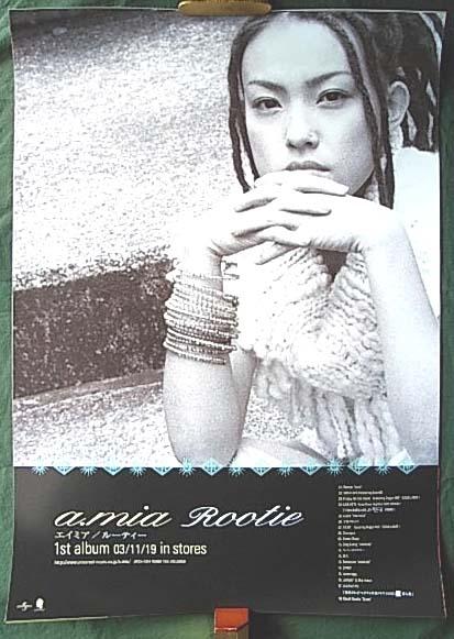 a.mia 「Rootie」 ポスター