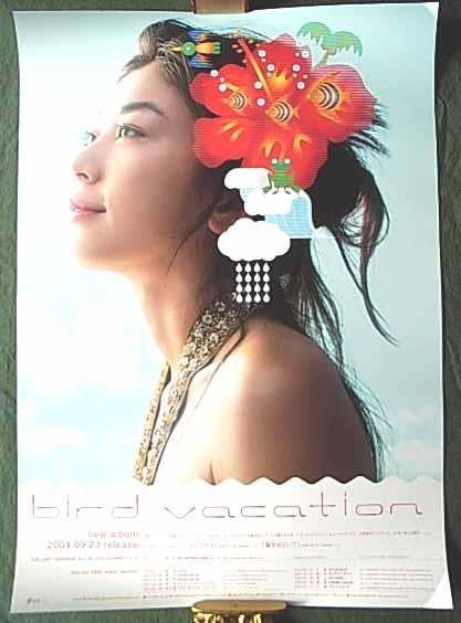 bird 「vacation」 ポスター