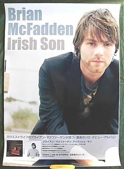 ブライアン・マックファーデン 「Irish Son」 ポスター