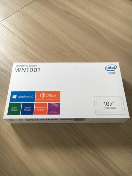 【即決 新品未使用】Windows Tablet WN1001_画像1