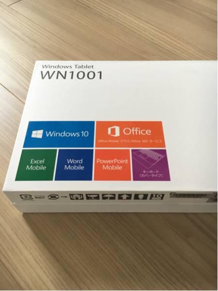 【即決 新品未使用】Windows Tablet WN1001_画像2