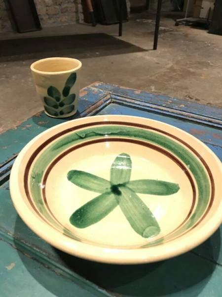 [3.11チャリティ]ちはるさん お皿とカップのセット rfp1074