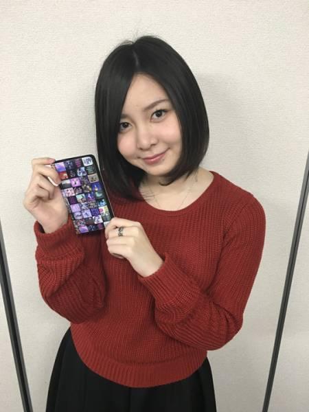 [3.11チャリティ]岩田華怜さん 私物 愛用品 サイン入りスマートフォンケース rfp1074