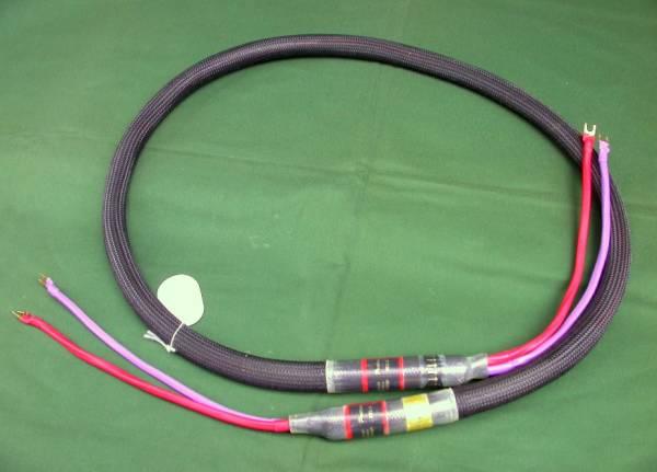 米PAD/PROTEUS Rev.A Bi-Wire 2.0m スピーカーケーブル、バイワイヤー・ペア(4本)_PAD PROTEUS、バイワイヤー2.0mペア(4本)