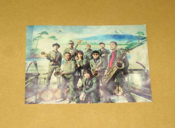 東京スカパラダイスオーケストラ [Paradise Has NO BORDER] アーティスト写真絵柄ステッカー TSUTAYA限定
