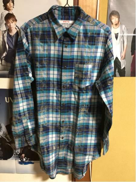 TAKUYA∞ 着 着用 ロングチェックシャツ