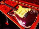 ★☆NitroLacquer Heavy Relic Antique MidnightPurple(MetallicPurple)Stratocaster レリック VintageUSパーツ☆★
