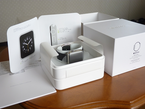 ★新品同様 Apple Watch 38mm ブラックモダン Lサイズ★_画像3