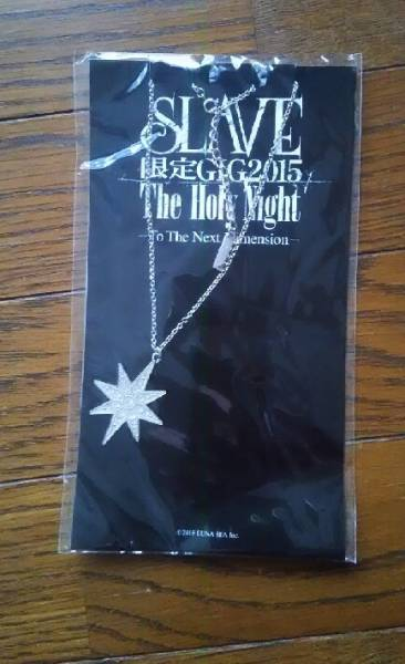 SLAVE 限定GIG2015 The Holy Night★ラインストーンネックレス