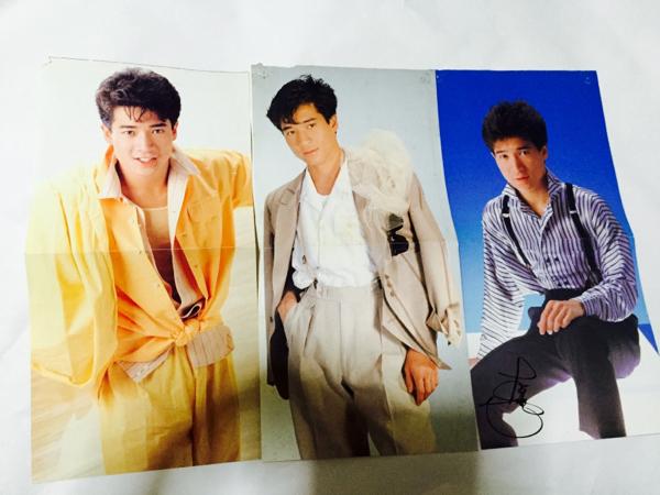 田原俊彦 レコードのミニポスター