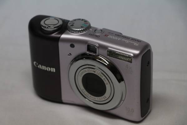 Canon PowerShot A1000IS 模型です。 2917-135