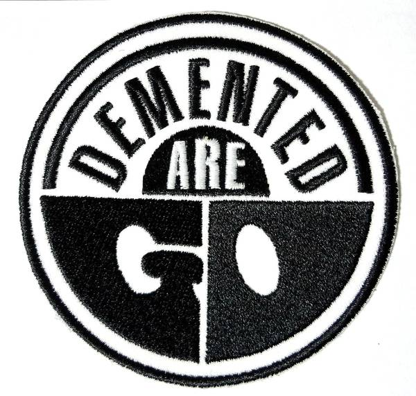 Demented Are Go 刺繍ワッペン,パッチ,Meteors,Krewmen,Batmobile,Mad Sin,Frenzy,Psychobilly