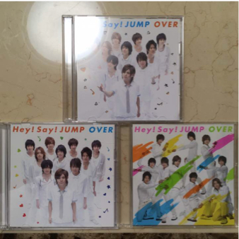 Hey!Say!JUMP OVER CDセット コンサートグッズの画像